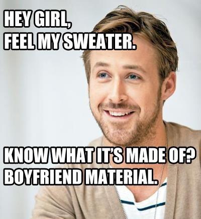 Ryan Gosling Hey Girl Sexiest Man ALIVE?   T...