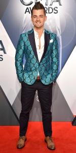 NASHVILLE, TN - NOVEMBER 04: Singer-songwriter Chase Bryant attends the 49th annual CMA Awards at the Bridgestone Arena on November 4, 2015 in Nashville, Tennessee. (Photo by John Shearer/WireImage)