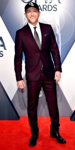 NASHVILLE, TN - NOVEMBER 04: Singer-songwriter Cole Swindell attends the 49th annual CMA Awards at the Bridgestone Arena on November 4, 2015 in Nashville, Tennessee. (Photo by John Shearer/WireImage)