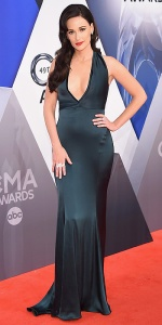 NASHVILLE, TN - NOVEMBER 04: Singer-songwriter Kacey Musgraves attends the 49th annual CMA Awards at the Bridgestone Arena on November 4, 2015 in Nashville, Tennessee. (Photo by Michael Loccisano/Getty Images)
