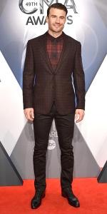 NASHVILLE, TN - NOVEMBER 04: Singer-songwriter Sam Hunt attends the 49th annual CMA Awards at the Bridgestone Arena on November 4, 2015 in Nashville, Tennessee. (Photo by John Shearer/WireImage)