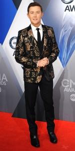 NASHVILLE, TN - NOVEMBER 04: Musician Scotty McCreery attends the 49th annual CMA Awards at the Bridgestone Arena on November 4, 2015 in Nashville, Tennessee. (Photo by Jon Kopaloff/FilmMagic)