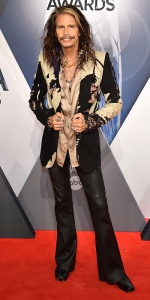 NASHVILLE, TN - NOVEMBER 04: Musician Steven Tyler attends the 49th annual CMA Awards at the Bridgestone Arena on November 4, 2015 in Nashville, Tennessee. (Photo by John Shearer/WireImage)