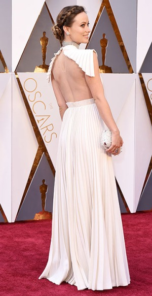 Mandatory Credit: Photo by David Fisher/REX/Shutterstock (5599371an) Olivia Wilde 88th Annual Academy Awards, Arrivals, Los Angeles, America - 28 Feb 2016