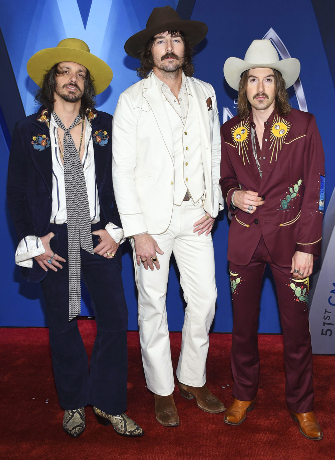 51st Annual CMA Awards - Arrivals, Nashville, USA - 08 Nov 2017