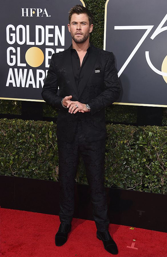 75th Annual Golden Globe Awards - Arrivals, Beverly Hills, USA - 07 Jan 2018