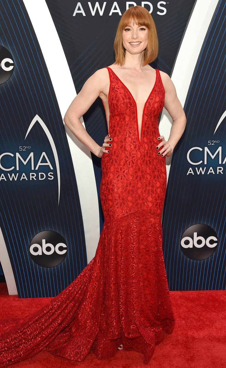 52nd Annual CMA Awards - Arrivals, Nashville, USA - 14 Nov 2018