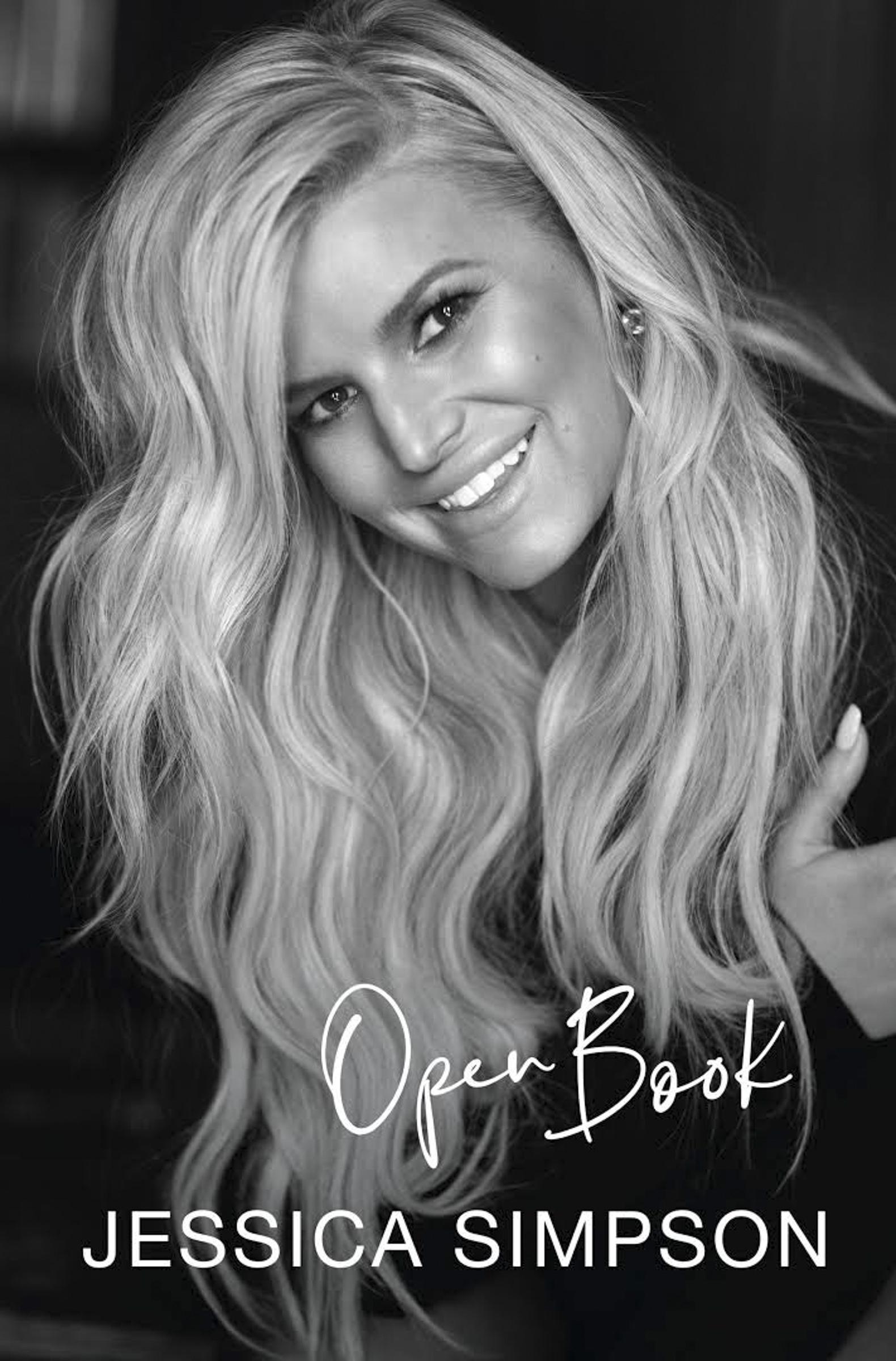 Open Book by Jessica Simpson CR: HarperCollins
